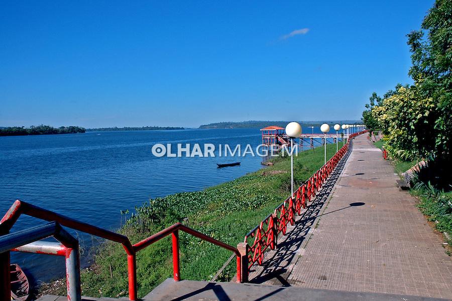 Cidade de Altamira e Rio Xingu. Para. 2009. Foto de Candido Neto.