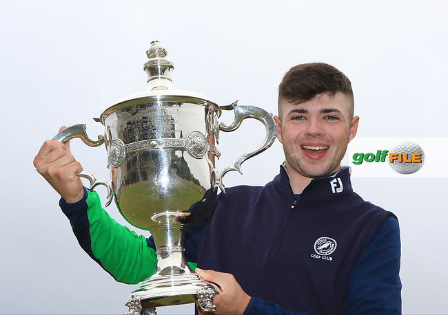 Reece Black (Hilton Templepatrick) winner of the East of Ireland Amateur Open Championship at Co. Louth Golf Club in Baltray on Monday 5th June 2017.<br /> Photo: Golffile / Thos Caffrey.<br /> <br /> All photo usage must carry mandatory copyright credit     (&copy; Golffile | Thos Caffrey)