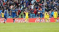 Madrid Coliseum Alfonso Perez 08/05/2016<br /> Temporada 2015 - 2016<br /> Jornada 37<br /> Liga BBVA Primera Division<br /> Getafe CF - Sporting de Gijon
