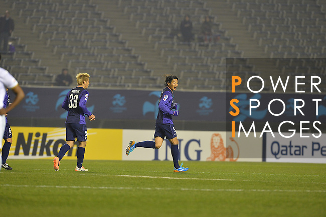 Sanfrecce Hiroshima (JPN) vs Beijing Guoan (CHN) during the 2014 AFC Champions League Match Day 1 Group F match on 25 February 2014 at Hiroshima Big Arch, Hiroshima, Japan. Photo by Stringer / Lagardere Sports
