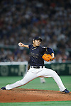 Takahiro Norimoto (JPN), <br /> MARCH 12, 2017 - WBC : 2017 World Baseball Classic Second Round Pool E Game between <br /> Japan 8-6 Netherlands <br /> at Tokyo Dome in Tokyo, Japan. <br /> (Photo by Sho Tamura/AFLO SPORT)