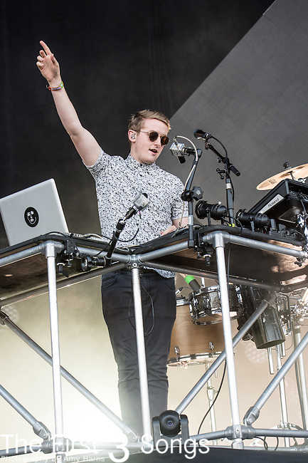 Guy Lawrence and Howard Lawrence of Disclosure perform at the Outside Lands Music & Art Festival at Golden Gate Park in San Francisco, California.