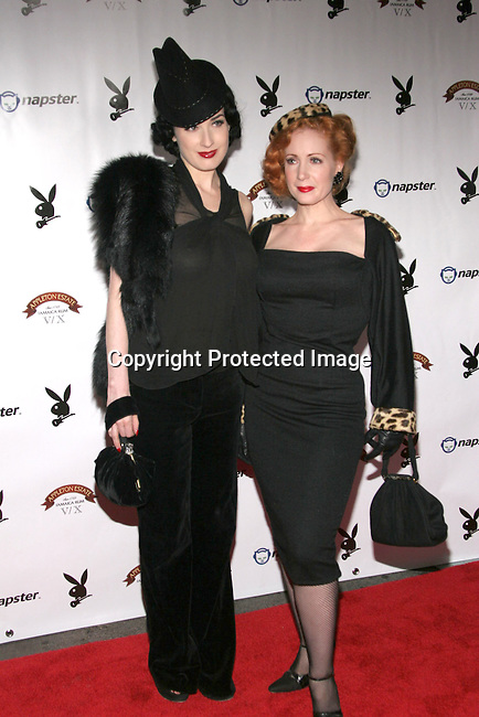 Dita Von Teese &amp; Catherine D'Lish<br />