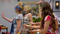 Amanda Barrie, Rachel Johnson and Jess Impiazzi.<br /> Celebrity Big Brother 2018 - Day 8<br /> *Editorial Use Only*<br /> CAP/KFS<br /> Image supplied by Capital Pictures