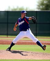 Joe Wieland / Texas Rangers 2008 Instructional League..Photo by:  Bill Mitchell/Four Seam Images