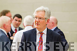 Padraig Burke Returning Officer,   at the Kerry General Election Count in Killarney.