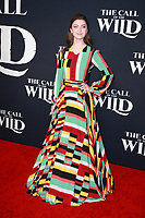 HOLLYWOOD, CA - FEBRUARY 13; Isabella Blake-Thomas at The Call Of The Wild World Premiere on February 13, 2020 at El Capitan Theater in Hollywood, California. Credit: Tony Forte/MediaPunch