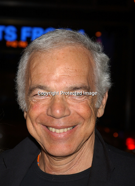 ..Ralph Lauren..at  Sinatra: His Voice, His World , His Way, Gala opening night at Radio City Music Hall on October 14, 2003 in New York City. Photo by Robin Platzer, Twin Images