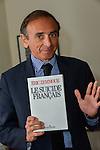 Eric Zemmour présent à Bruxelles pour son nouveau livre