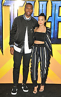 Daniel Sturridge and Jamila at the &quot;Black Panther&quot; European film premiere, Hammersmith Apollo (Eventim Apollo), Queen Caroline Street, London, England, UK, on Thursday 08 February 2018.<br /> CAP/CAN<br /> &copy;CAN/Capital Pictures