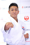 Ryo Kiyuna, <br /> AUGUST 4, 2016 - Karate : <br /> Japan Karatedo Federation holds a press conference after it was decided that <br /> the sport of karate would be added to the Tokyo 2020 Summer Olympic Games on August 3rd, 2016 <br /> in Tokyo, Japan. <br /> (Photo by AFLO SPORT)