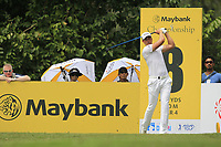 Henrik Stenson (SWE) in action on the 8th tee during Round 2 of the Maybank Championship at the Saujana Golf and Country Club in Kuala Lumpur on Friday 2nd February 2018.<br /> Picture:  Thos Caffrey / www.golffile.ie<br /> <br /> All photo usage must carry mandatory copyright credit (&copy; Golffile | Thos Caffrey)