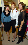 Sydne Douglas (cq), Deborah Douglas and Elizabeth Rose at the Monique Lhuillier show at Tootsies Thursday Oct. 30, 2008. (Dave Rossman/For the Chronicle)