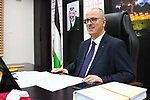Palestinian Prime Minister, Rami Hamdallah, chairs a meeting of council minister, in the West Bank city of Ramallah, on March 12, 2019. Photo by Prime Minister Office