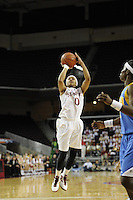 March 14, 2010.  Melanie Murphy during the finals of the Pac-10 tournament.  Stanford defeated UCLA, 70-46.