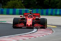 17th July 2020, Hungaroring, Budapest, Hungary; F1 Grand Prix of Hungary,  free practise sessions;  16 Charles Leclerc MCO, Scuderia Ferrari Mission Winnow, Budapest Hungary