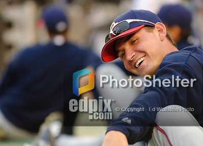 3 April 2006: Ryan Zimmerman, third baseman for the Washington Nationals, stretches out prior to the Opening Day game against the New York Mets at Shea Stadium, in Flushing, New York. The Mets defeated the Nationals 3-2 to lead off the 2006 MLB season...Mandatory Photo Credit: Ed Wolfstein Photo..