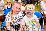 Katie Kiely and Kyle Moane enjoying the Ballyheigue Summer Fest on Sunday.
