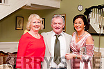 Ballydonoghue GAA Social@ Pictured at the Ballydonoghue GAA club social at the Listowel Arms Hotel on Saturday night last were Eileen & Robert Bunyan & Mairead Sheehy.