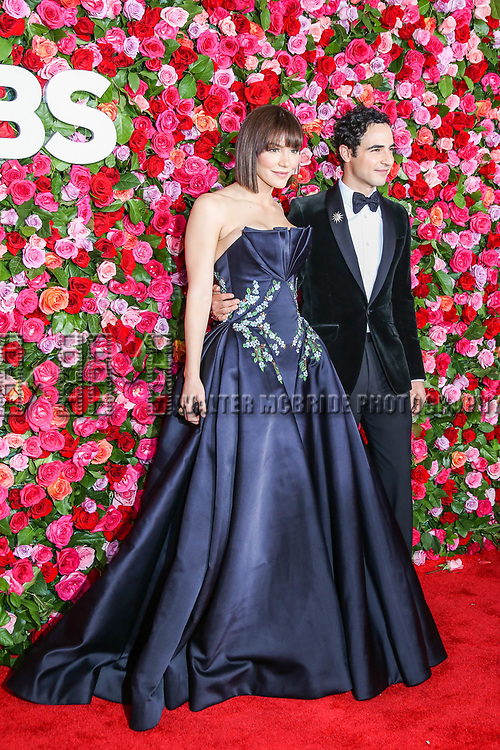 NEW YORK, NY - JUNE 10:  Katharine McPhee and Zac Posen attend the 72nd Annual Tony Awards at Radio City Music Hall on June 10, 2018 in New York City.  (Photo by Walter McBride/WireImage)