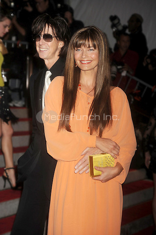 Ric Ocasek and Paulina Porizkova at 'The Model as Muse: Embodying Fashion' Costume Institute Gala at The Metropolitan Museum of Art in New York City. May 4, 2009. Credit: Dennis Van Tine/MediaPunch