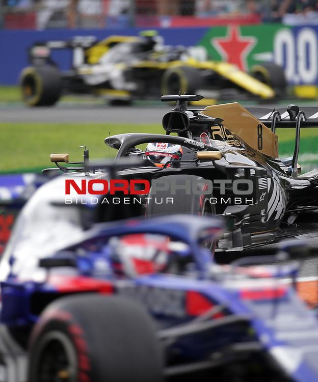 06.09.2019, Autodromo Nazionale di Monza, Monza, FORMULA 1 GRAN PREMIO HEINEKEN D'ITALIA 2019<br />,im Bild<br />Nico Hülkenberg (GER#27), Renault F1 Team, Romain Grosjean (FRA#8), Rich Energy Haas F1 Team, Daniil Kvyat (RUS#26), Red Bull Toro Rosso Honda<br /> <br /> Foto © nordphoto / Bratic