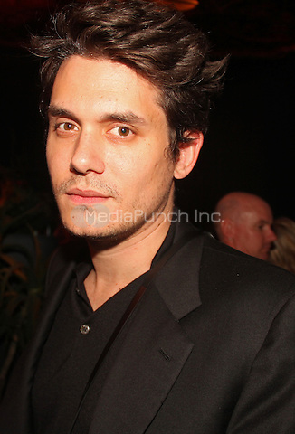 Los Angeles, California - January 26: John Mayer at Universal Music Group 2014 Post Grammy Party on January 26, 2014 at The Ace Hotel Theater, California. Photo Credit: Walik Goshorn/MediaPunch