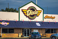The Dixie Truckers Home, originally opened in 1928 by John Geske and JP Walters, still operates as the Dixie Travel Plaza on Route 66 in Mclean Illinois.