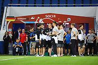 Deutsche Mannschaft im Fisht Stadium - 18.06.2017: Pressekonferenz Deutschland, Fisht Stadium Sotschi
