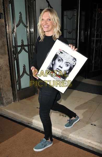 Jo Whiley at the Radio Times Covers Party, Claridge's Hotel, Brook Street, London, England, UK, on Tuesday 31 January 2017.<br /> CAP/CAN<br /> &copy;CAN/Capital Pictures