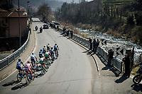 the breakaway group<br /> <br /> 110th Milano-Sanremo 2019 (ITA)<br /> One day race from Milano to Sanremo (291km)<br /> <br /> ©kramon