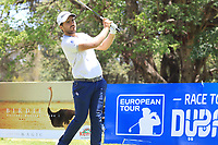 Romain Langasque (FRA) in action during the final round of the Magical Kenya Open presented by ABSA played at Karen Country Club, Nairobi, Kenya. 17/03/2019<br /> Picture: Golffile | Phil Inglis<br /> <br /> <br /> All photo usage must carry mandatory copyright credit (&copy; Golffile | Phil Inglis)