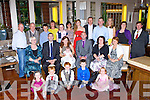 Molly Ferris, Muckross Road Killarney celebrated her christening with her parents Laura Tangney and Richard Ferris family and friends in the Brehon Hotel on Saturday