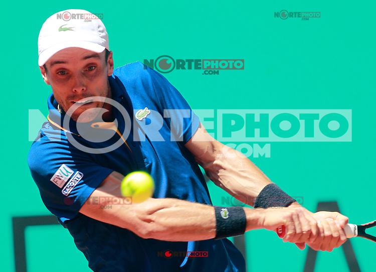 Roberto Bautista Agut, Spain, during Madrid Open Tennis 2018 match. May 8, 2018.(ALTERPHOTOS/Acero) /NortePhoto.com
