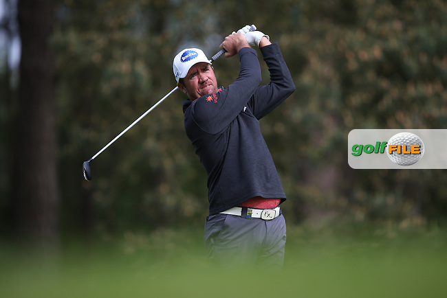 Scott Hend (AUS) during Round Two of the 2015 BMW PGA Championship over the West Course at Wentworth, Virginia Water, London. 22/05/2015Picture David Lloyd, www.golffile.ie.