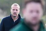 ALMERE - Hockey - Overgangsklasse competitie dames ALMERE- ROTTERDAM (0-0) .  Kees Wortmann, coach R'dam.  COPYRIGHT KOEN SUYK