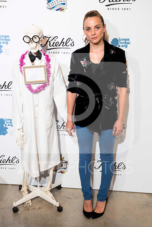 leonor watling during the photocall of the celebration of  Kiehl's 10th anniversary of the collaboration with the Foundation Juegaterapia in Madrid. September 29, 2016. (ALTERPHOTOS/Borja B.Hojas)