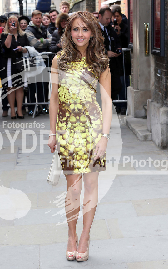 Samia Ghadie  arriving for the wedding of Coronation Street actress Helen Worth   at St.James's Church in Piccadilly, London, Saturday 6th   April 2013.  Photo by: Stephen Lock / i-Images / DyD Fotografos