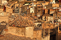 Houses in the Old Town or Casc Antic of Tortosa, Tarragona, Spain. Picture by Manuel Cohen