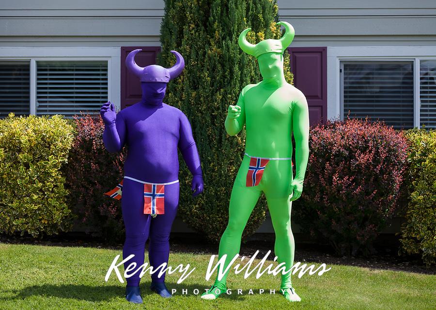 Viking Fest, Poulsbo, Washington, USA.