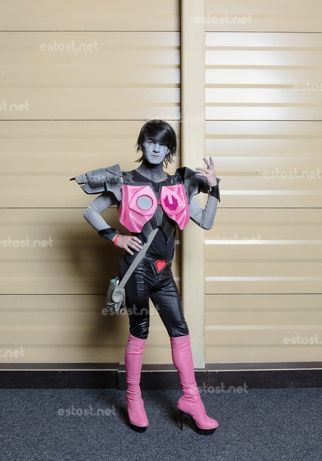LETTLAND, 08.2017, Riga. Cosplay-Spieler. | Costume Roleplay.<br /> © Reinis Hofmanis/EST&OST