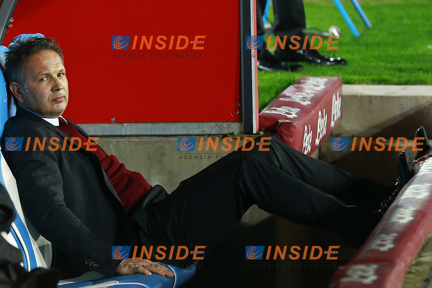 Sinisa Mihajlovic Milan,  <br /> Napoli 22-02-2016 Stadio San Paolo<br /> Football Calcio Serie A 2015/2016 Napoli - Milan<br /> Foto Cesare Purini / Insidefoto