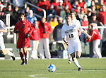 16 December 2007: Wake Forest's Corben Bone. The Wake Forest University Demon Deacons defeated the Ohio State Buckeyes 2-1 at SAS Stadium in Cary, North Carolina in the NCAA Division I Mens College Cup championship game.