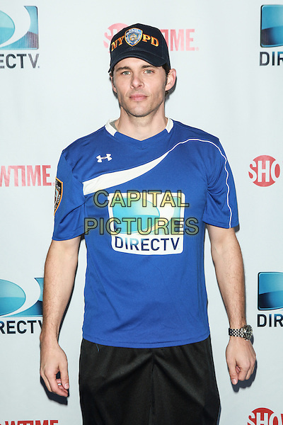 NEW YORK, NY - FEBRUARY 1: James Marsden attends the DirecTV Beach Bowl at Pier 40 on February 1, 2014 in New York City. <br /> CAP/MPI/COR<br /> &copy;Corredor99/ MediaPunch/Capital Pictures