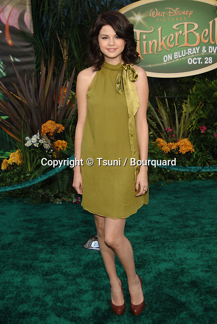 Selena Gomez -<br /> Tinker Bell Premiere at the El Capitan Theatre In Los Angeles.