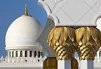 Abu Dhabi Mosque column detail