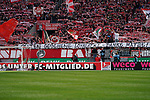 12.05.2019, RheinEnergieStadion, Koeln, GER, 2. FBL, 1.FC Koeln vs. SSV Jahn Regensburg,<br />  <br /> DFL regulations prohibit any use of photographs as image sequences and/or quasi-video<br /> <br /> im Bild / picture shows: <br /> Banner fuer Matthias Lehmann (FC Koeln #33), <br /> <br /> Foto &copy; nordphoto / Meuter