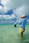 Cathy Beck Saltwater Fly Fishing in Christmas Island