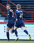 Raffaele De Vita celebrates with Michael Gardyne
