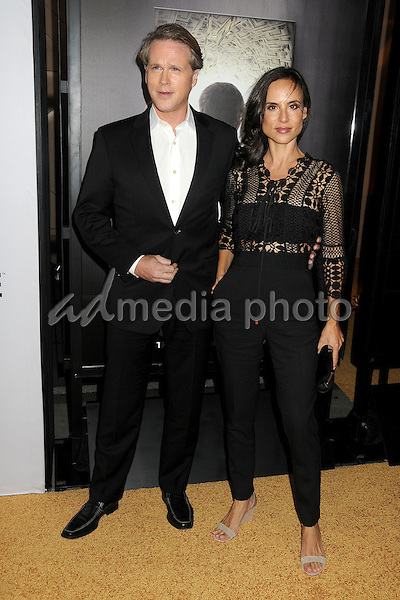 "29 October 2015 - Culver City, California - Cary Elwes, Lisa Marie Kubikoff. ""The Art Of More"" Series Premiere held at Sony Pictures Studios. Photo Credit: Byron Purvis/AdMedia"